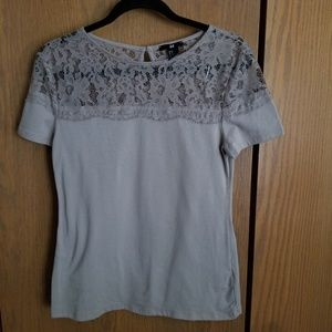 Womens Top Creme Color